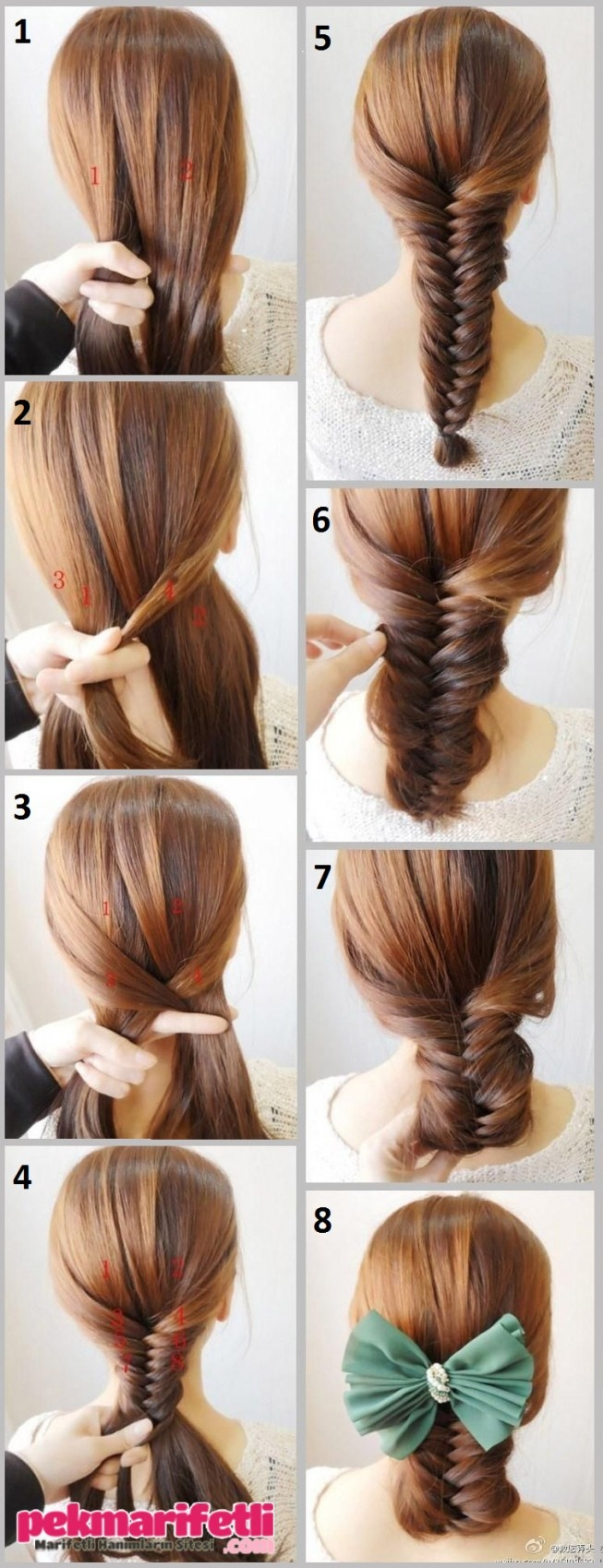 10 quick and easy hairstyles step by step the learnify -  Rg L Topuz Yap M