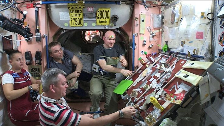 How Astronauts Enjoy a Thanksgiving Feast on the International Space Station