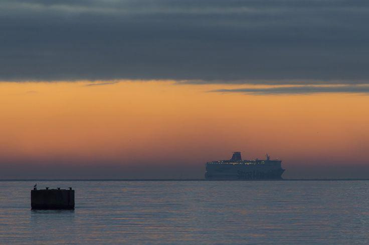 Patchwork moments: Dwa miasta. Gdynia słoneczna - Gdynia pochmurna