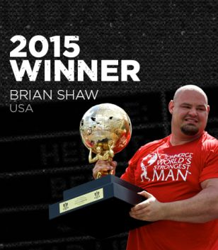 World's Strongest Man. It doesn't get any bigger than this!