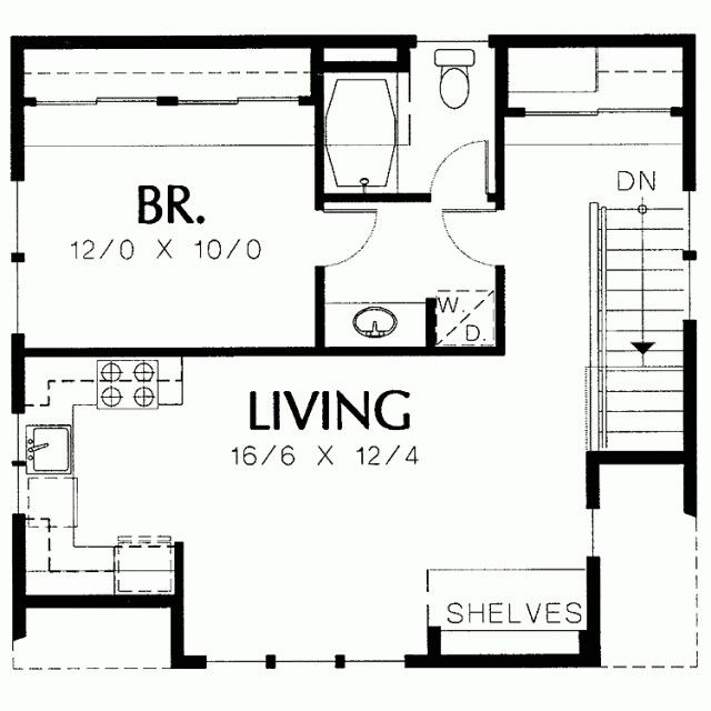 76 best images about in law suite on pinterest for Garage studio apartment plans