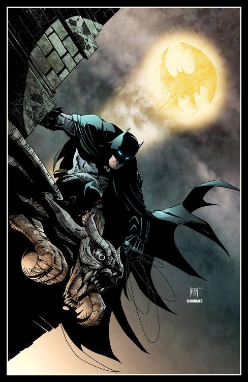96 best personal batman images on pinterest dark knight comic art batman drawn by ken hunt color by daniel morales olvera fandeluxe Gallery