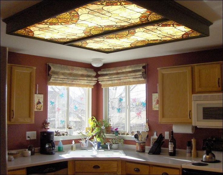 Fluorescent Light Covers For Kitchen Pictures More