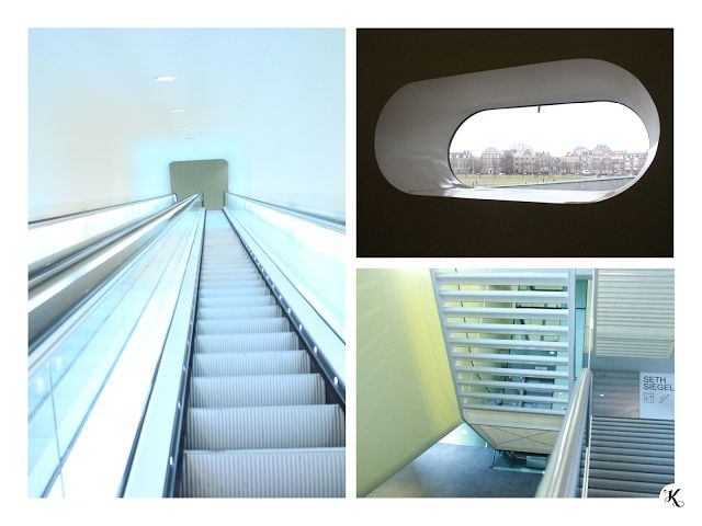 Knihařka - Stedelijk museum - escalator