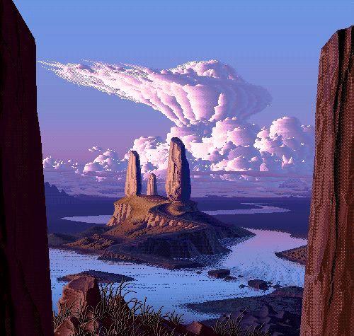 8 Bit Amazing Landscapes - Imgur
