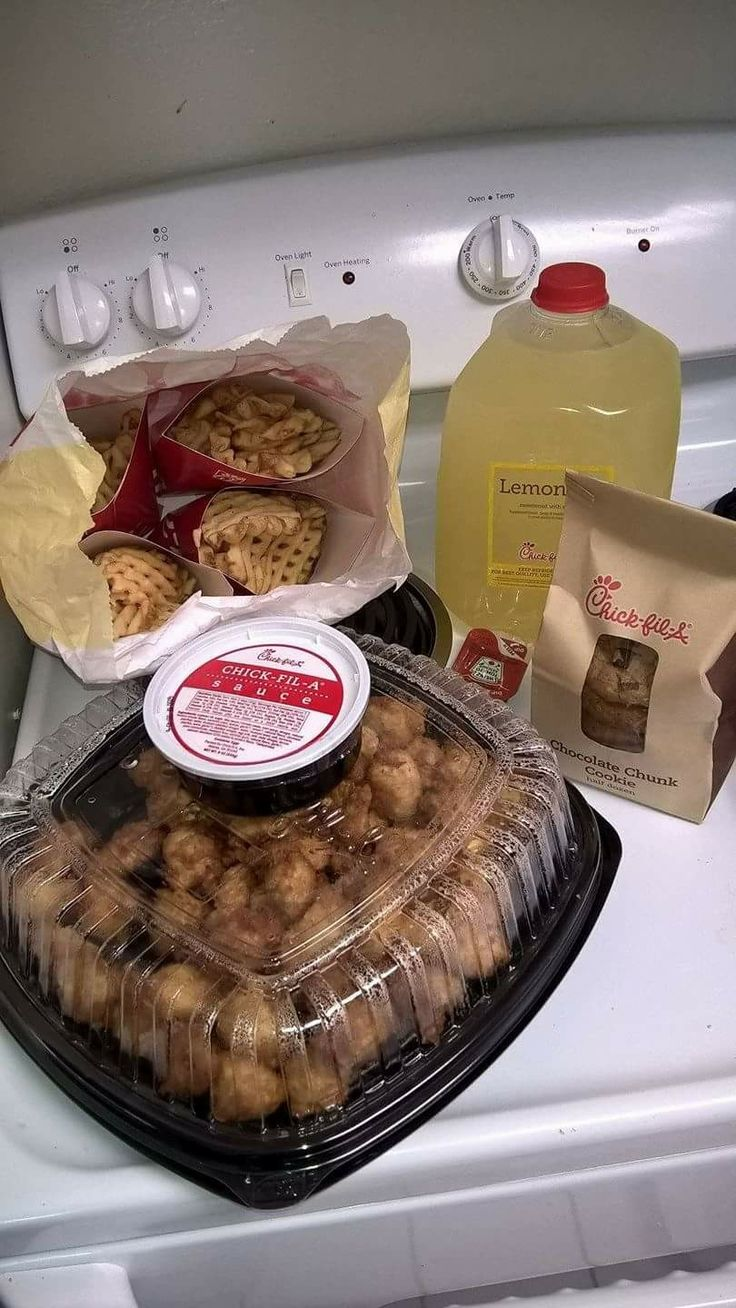 If u contact your closest chick fil a close to your due date or right after u have the baby they offer a new mom meal for FREE. It's a small platter, 4 large fries or fruit, a gallon of lemonade or tea, and cookies.