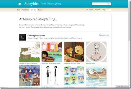 Storybird (οδηγίες)