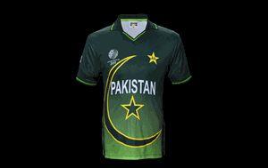 Pakistan 2011 Cricket World Cup Shirt - BoomBoom Pakistan ODI Cricket Shirt
