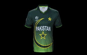 Pakistan 2011 Cricket World Cup Shirt - BoomBoom Pakistan ODI Cricket Shirt