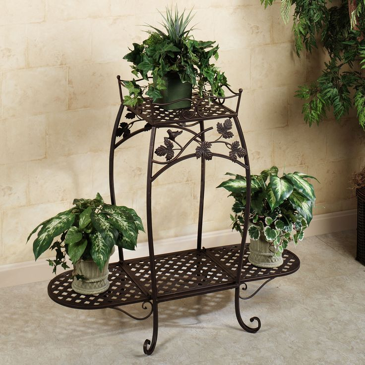 songbird symphony indoor outdoor plant stand for the. Black Bedroom Furniture Sets. Home Design Ideas