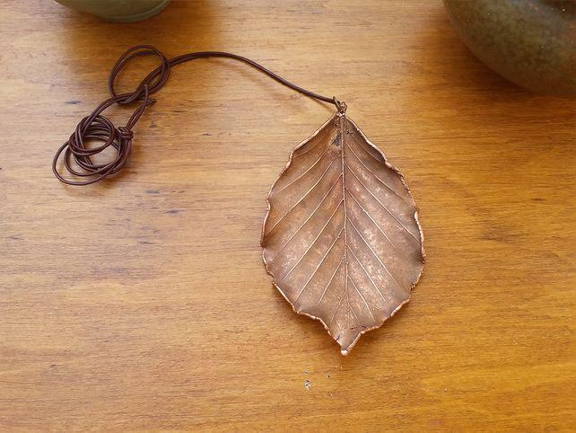 Birch Leaf Pendent  £26.00