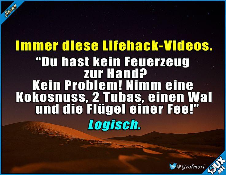 Hat man ja sowieso immer dabei... #Lifehack #sowahr #Sprüche #Spruchbilder #Humor #witzig #Statusbilder