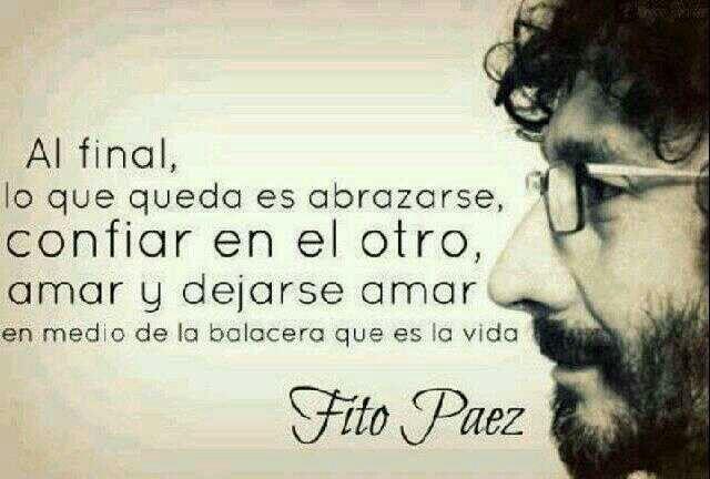 Amar y dejarse amar #love #quotes #fitoperez