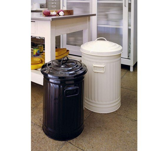 Buy Habitat Alto 52L Cream Kitchen Bin at Argos.co.uk - Your Online Shop for Kitchen bins, Kitchenware, Cooking, dining and kitchen equipment, Home and garden.
