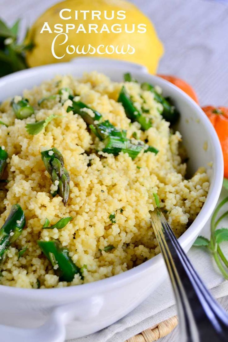 Whether you need a simple side dish for a quick weeknight dinner or an impressive salad for an upcoming BBQ, this citrus asparagus couscous has you covered.