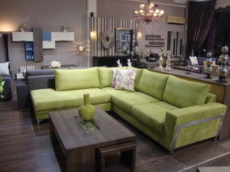 Η ιδιαίτερη υφή και το στύλ που αποπνέει ο καναπές είναι τέλεια