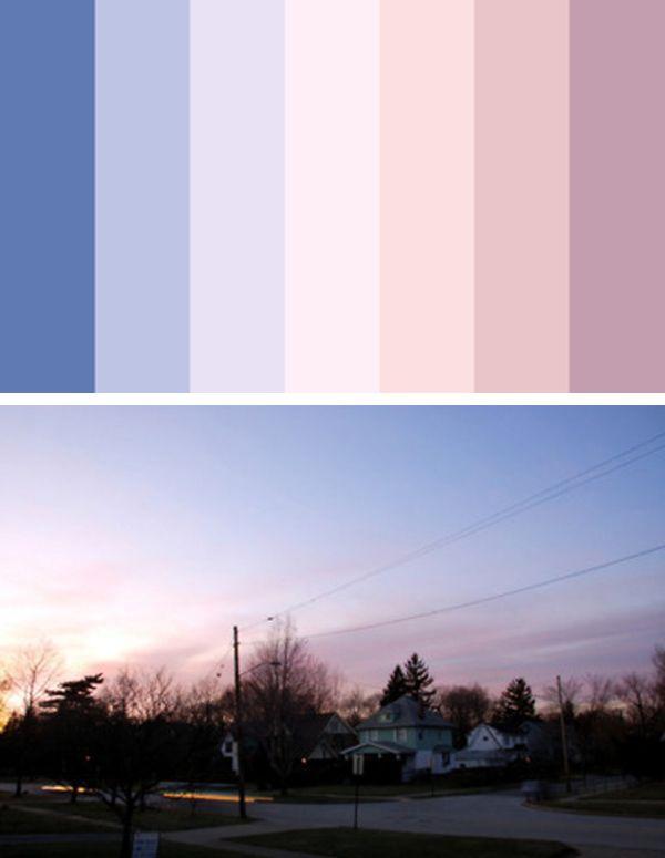 Está permitido roubar as paletas de cores do universo                                                                                                                                                     Mais