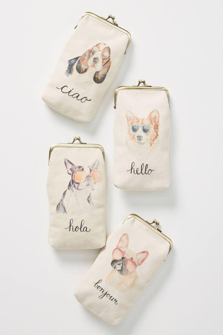 Dashing Dog Glasses Case | Gift Ideas | Dog with glasses ...