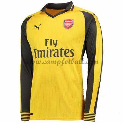 Arsenal Fotballdrakter 2016-17 Bortedrakt Langermet