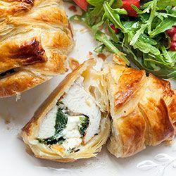 Filety z kurczaka w cieście francuskim | Kwestia Smaku