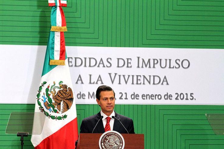 El presidente enrique peña nieto anuncia nuevas medidas para que más familias accedan a una vivienda digna
