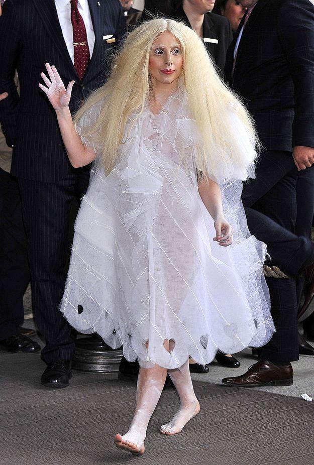 5 Things Lady Gaga Wore This Week (via BuzzFeed)