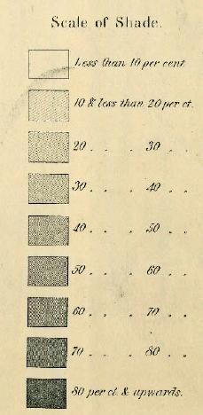 Map Of The Last U S Slave Census 1860