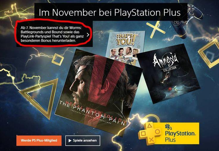 [IMAGE] November PS4 PS Plus Games