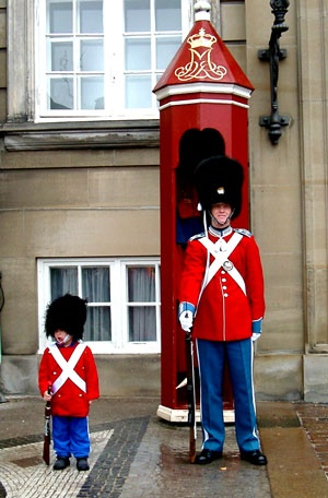 Pay the queen and her family a visit at Amalienborg. The guards will play a tune at high noon every day. Denmark