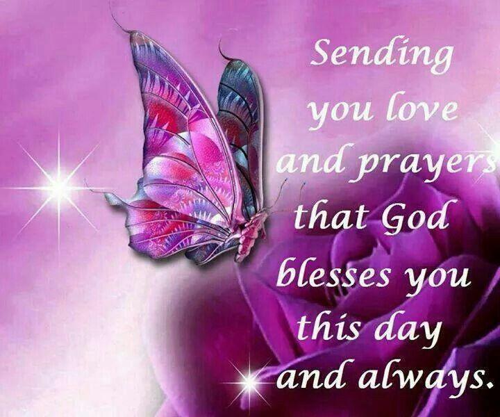 Sending you love and prayers. .