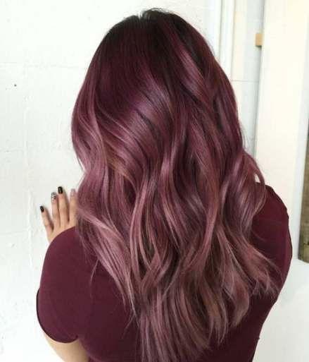 32+ Ideen Haarfarbe Rose Gold Highlights Farbe für 2019 – hair