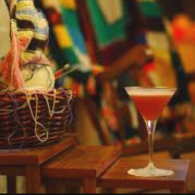 Grandma Bar - 275 Clarence Street, Sydney.     Cocktails and Crochet