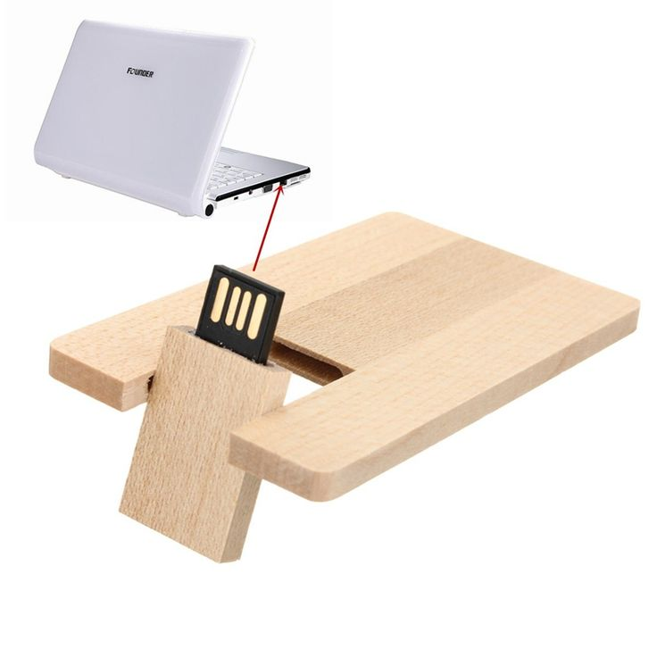 Wooden 16GB USB Flash Drive USB2.0 Flash Memory Stick Drive Flash Disk USB Stick Memory Disk Drivepen Drive For MAC PC Notebook #Affiliate
