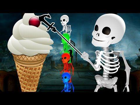 Skeleton And Vegetables Finger Family Rhymes | Kids Nursery Rhymes | Kids Preschool Learning Song - YouTube