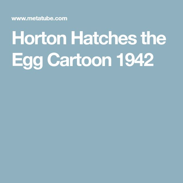 horton hatches the egg pdf