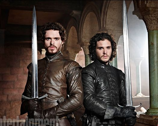 robb stark and jon snow - Google Search