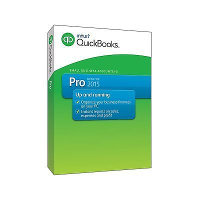 QuickBooks Pro Small Business Accounting Software 2015 Old Version: $269.03 End Date: Tuesday Apr-10-2018 2:07:17 PDT Buy It Now for only:…