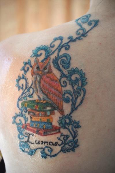 Potter tattooBook Tattoo, Harrypotter, Fuck Yeah, Body Art, Accio Tattoo, Owls Art, Harry Potter Tattoos, Art Tattoos, Owls Tattoo Harry Potter