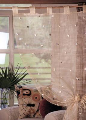 Natural Seashell Curtains