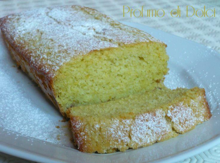 Plum cake alla farina di riso