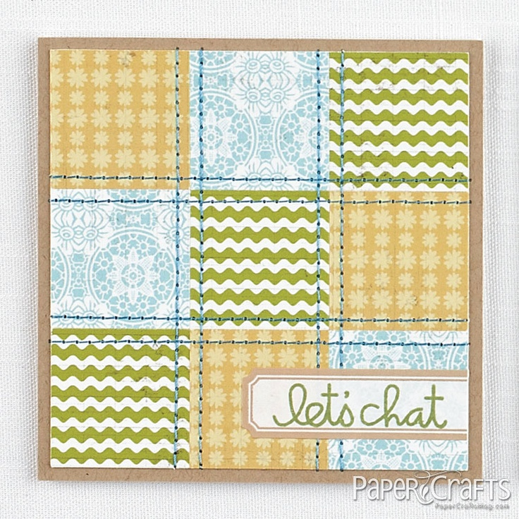 590 best Cards - With Stitching images on Pinterest | Card ideas ...