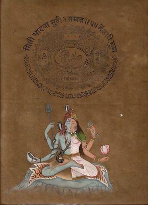 Mahadev Parvati God | Lord-Mahadev-Shiva-Parvati-Ardhanarishwar-Art-HANDMADE-Spiritual ...