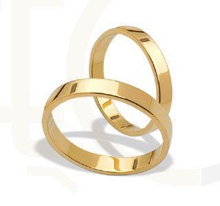 Obrączki ślubne z żółtego złota / Wedding rings made from yellow gold / 962 PLN / #gold #jewellery #jewelry #wedding_rings #bizuteria #zloto #obraczki_slubne