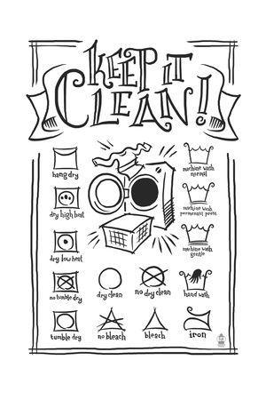 59 Best Laundry Symbols Images On Pinterest Laundry Symbols