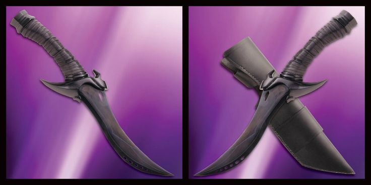 The Poison Dagger of Kylar Stern! Licensed blade from the Night Angel Trilogy!