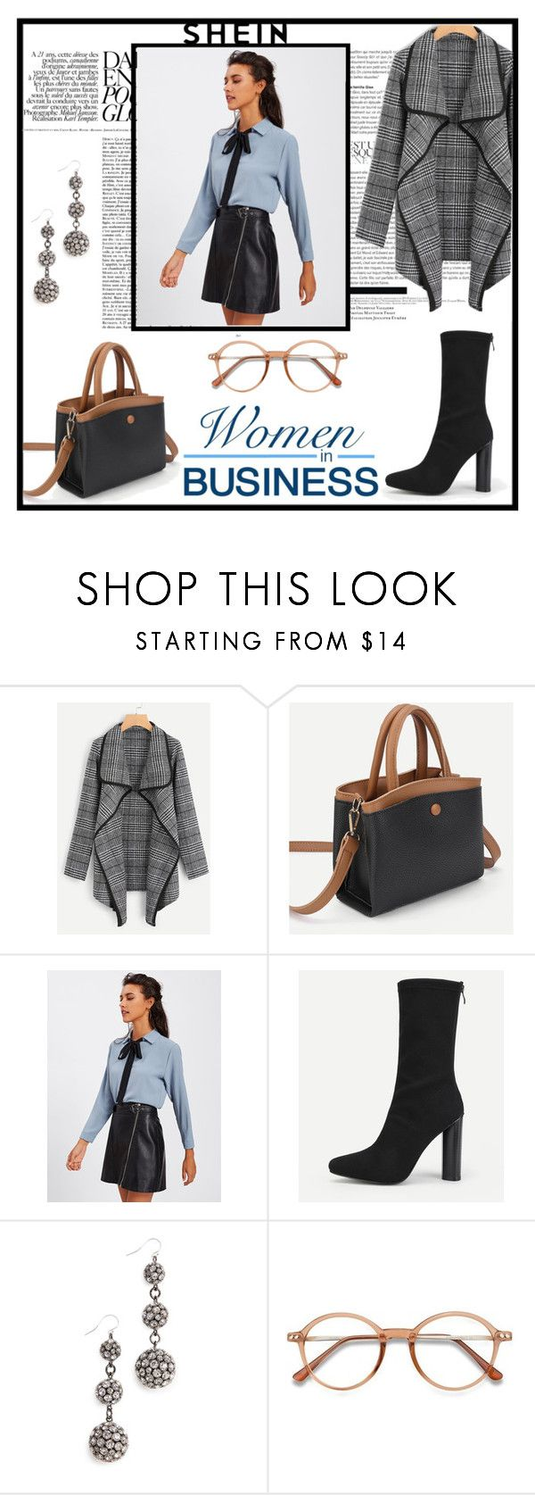 """Women in business"" by musicajla ❤ liked on Polyvore featuring Lulu Frost and EyeBuyDirect.com"