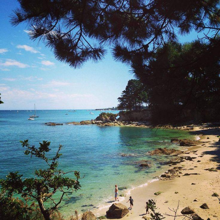La Roche Percée à Beg Meil, Fouesnant, Finistère (Alexia Rullier)