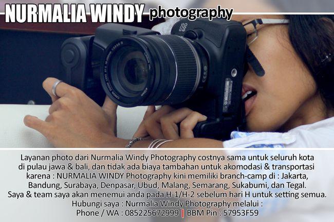 Nurmalia Windy - Fotografer Purwokerto | Windygraphy | Fotografer Wedding | Fotografer Prewedding: Terhitung sejak : 01 Desember 2015, Biaya foto Nur...
