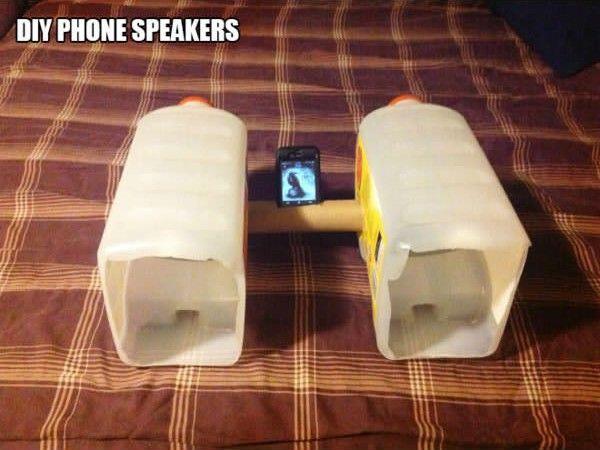low cost smartphone speaker