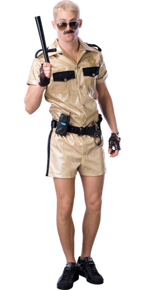 Reno 911 Lt Dangle Costume for Adults - Party City